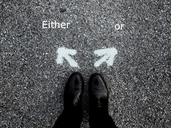 correlative choice either or
