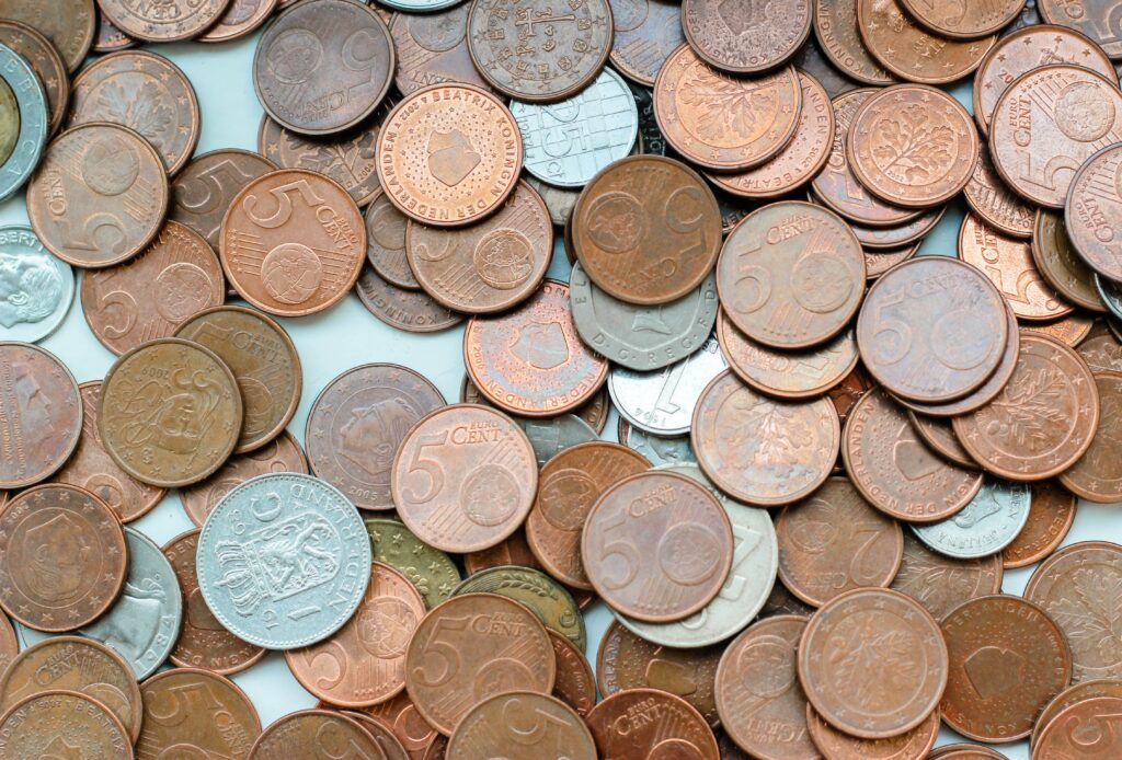 "Cents (beginning with a ""c"") refers to an amount of money less than a dollar."